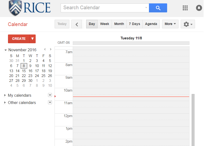 Create Event for Google Calendar