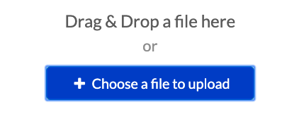 BUtton labeled 'Choose a file to upload.'