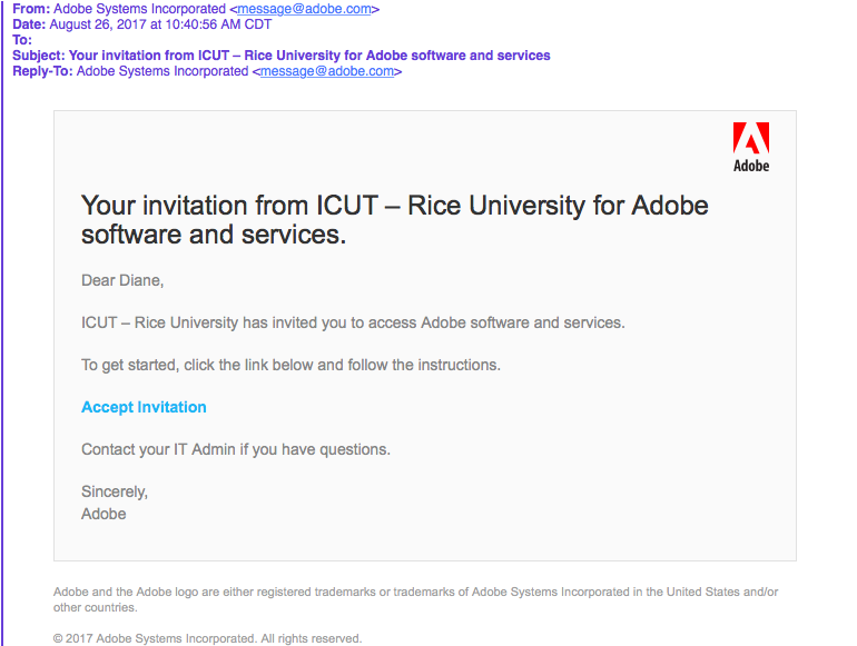 Adobe Creative Cloud License