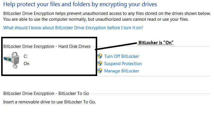 How to determine if your computer is encrypted with BitLocker (PC)