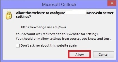 Allow to Configure Settings