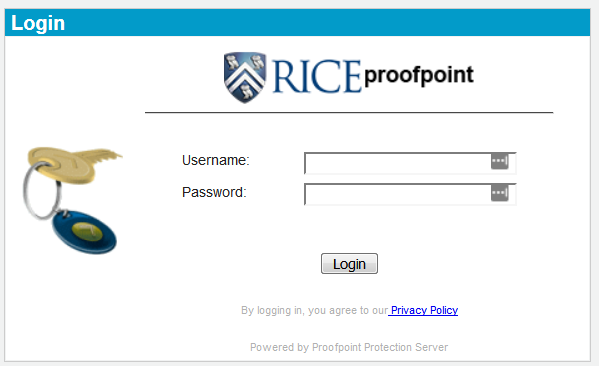 Proofpoint Login